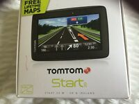 Tomtom Start 20 with free life time maps.