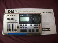 Alesis DM10 , DM10X Drum Module / High Definition Drums , Cymbals with Dynamic Articulation / As New