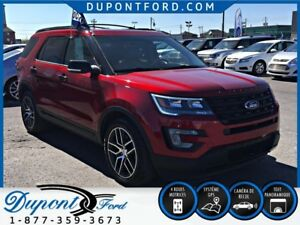 2017 FORD EXPLORER 4WD Sport 3.5 L EcoBoost DOUBLE DVD