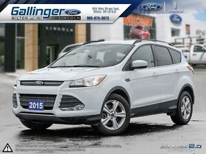 2015 Ford Escape SE w/201A PACKAGE AND HEATED LEATHER