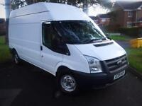 2009 FORD TRANSIT 2.4 RWD LWB HIGH ROOF WHITE LOW MILES 96,000 MINT