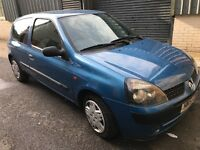 Renault clio 1.2 51-plate runs and drives! Tax and test! LOGBOOK LOST £225! Call 07854699959! £225!!