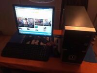 ** Quality and Affordable Full Desktop PC** 250GB HDD, 2GB Ram, WiFi, Multi Card Reader, Windows 7