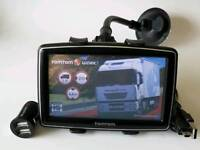 Tomtom XXL Classic with full Europe Truck Maps including UK