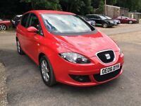 2006 SEAT ALTEA STYLANCE TDI REDFAMILY CAR PART EXCHANGE TO CLEAR CHEAP BARGAIN