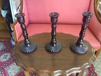 Stunning Collection Of Bespoke Glass Candleholders