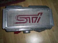 Newage JDM Subaru Impreza WRX STi Top Mount Intercooler And Cover