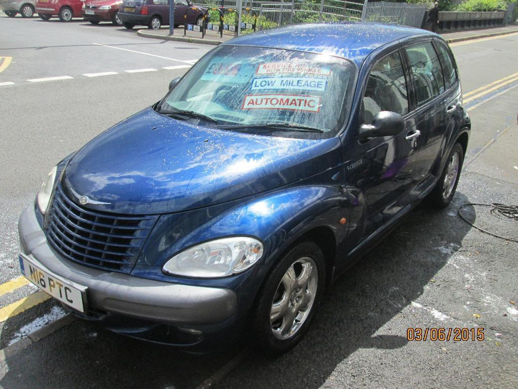 chrysler pt cruiser 1996cc limited edition automatic 5. Black Bedroom Furniture Sets. Home Design Ideas