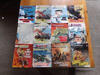 30 x Commando Comics and 3 x Battle Comics