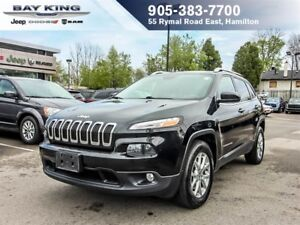 2015 Jeep Cherokee NORTH, 4X4, BACKUP CAM, REMOTE START