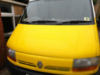 Renault Master T35 2.5D LWB ex-freezer van - 12 months MOT