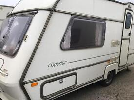 1992 abi award daystar swift elddis Avondale 2 berth caravan OVER 100 in Saturday sale