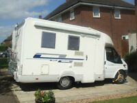 AUTOROLLER 200 MOTORHOME 2009(59) FIXED BED 4 BERTH 17,900 Miles EXCELLENT CONDITION £24,999