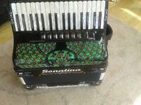 piano accordion Fantini 96. Bass