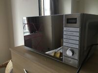 Tesco Solo Microwave Oven MP1714, 17L Stainless Steel