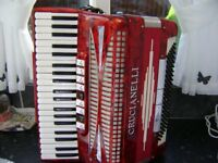 cruianelli 120 bass accordion musette tuned