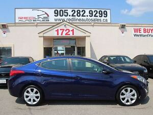 2013 Hyundai Elantra Limited, Leather, Navi, WE APPROVE ALL CRED