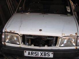 Tata loadbeta 1.9 tdi Crew cab 51 plate spares or repair