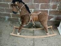 Rocking horse- Vintage Children's Horse