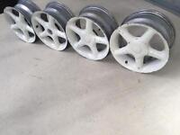 "15"" Tsw stealths alloy wheels 4/108 Peugeot Citroen ford"