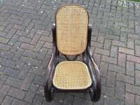 Vintage Bentwood Children's rocking chair