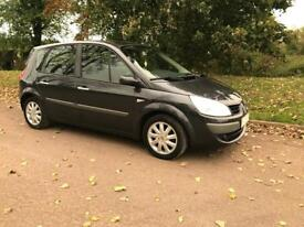 2007 Renault scenic dynamic 1.6 VVT in grey 6mths mot vgc