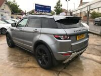 FINANCE £345 PR MONTH 2012 LAND ROVER RANGE ROVER EVOQUE DYNAMIC LUXURY AWD 69K MILES FSH HPI CLEAR