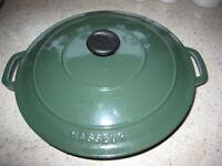 Chasseur cast iron casserole/serving dish