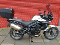 Triumph Tiger 800 ABS 2014 *2400 miles* Mint Condition* Full Service History.