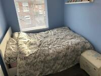 Ikea double bed and mattress