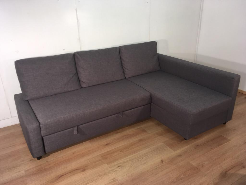 Gray Corner Ikea Sofa Bed With Free Delivery Within London In Clapham Gumtree
