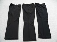 plus size black trousers