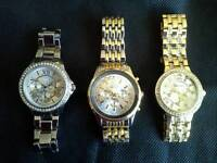 Mens Watches x 3 New.
