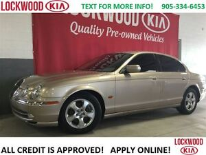 2002 Jaguar S-Type ***ONE OWNER TRADE, NO ACCIDENT'S**(*