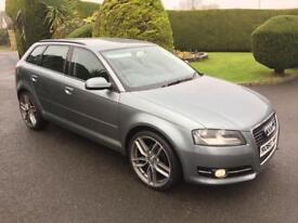 AUDI A3 TDI DIESEL, OCT 2010, NEW 19 INCH ALLOYS **DRIVE THIS AWAY FROM £32 PER WEEK**