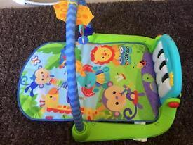 Fisherprice kick and play baby piano