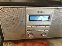 Bush dab radio in silver