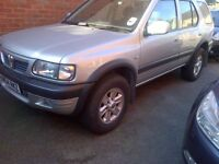 Silver 2004 Vauxhall 4x4 Frontera 2.2