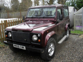 LAND ROVER DEFENDER (fast becoming a classic)