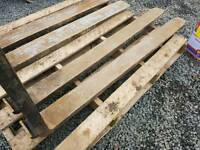 Pair of pallet forks for tractor forklift telehandler etc