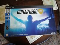 guitar hero live (ps3) no game just the guitar