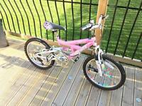 Child's girls mountain bike