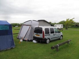 Renault Kangoo Roo coachbuilt Campervan Xreg 12 month MOT + driveaway awning