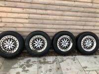 Volvo XC60 spare wheels + winter tyres