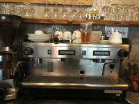 professional coffee machine rancilio large Used
