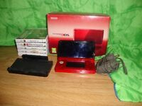 Nintendo 3DS w/6 Games and all accesories included.