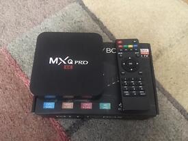 MXQ PRO Quad Core 4K Smart TV Box