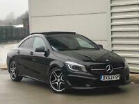 2014 Mercedes-Benz CLA220 AMG Sport COMAND 7G-DCT 4dr start/stop* pan roof* automatic diesel a3 golf