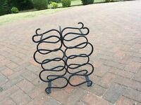 12 bottle steel wine rack - Fantastic price £20