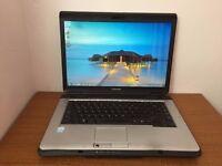 TOSHIBA SATELLITE L300 - 2GB RAM - 160GB STORAGE - WINDOWS 7